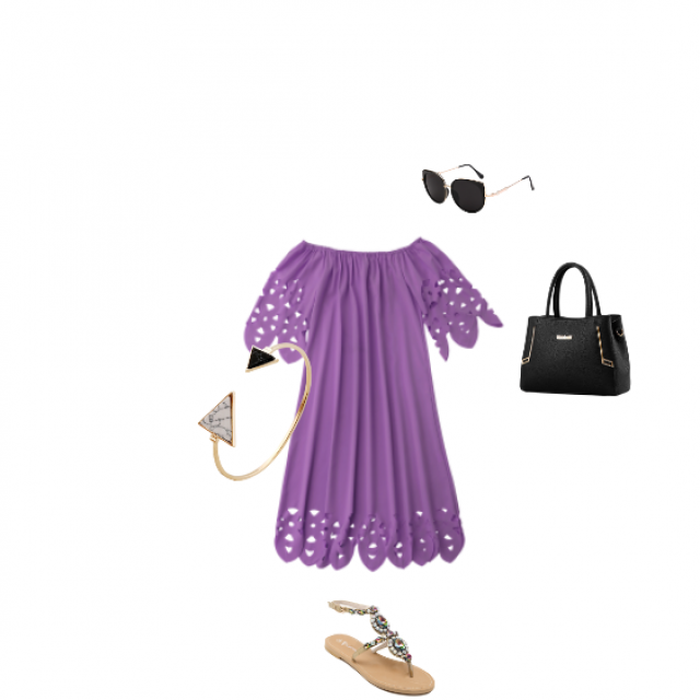 #Junepurple #summer #girly #beachy #shades