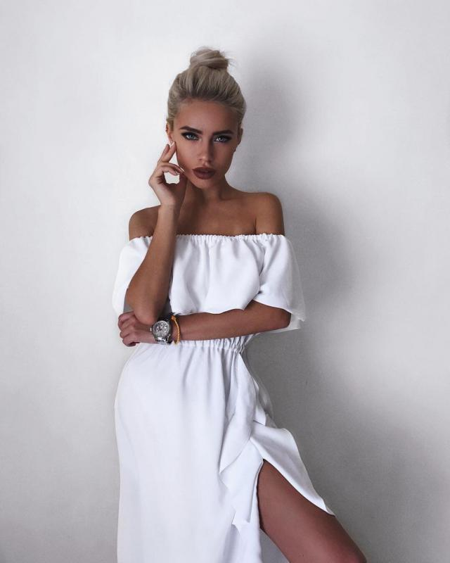 Dreaming of the perfect little white dress? Zaful white dresses come in many styles, such as lace, bodycon, sequin &