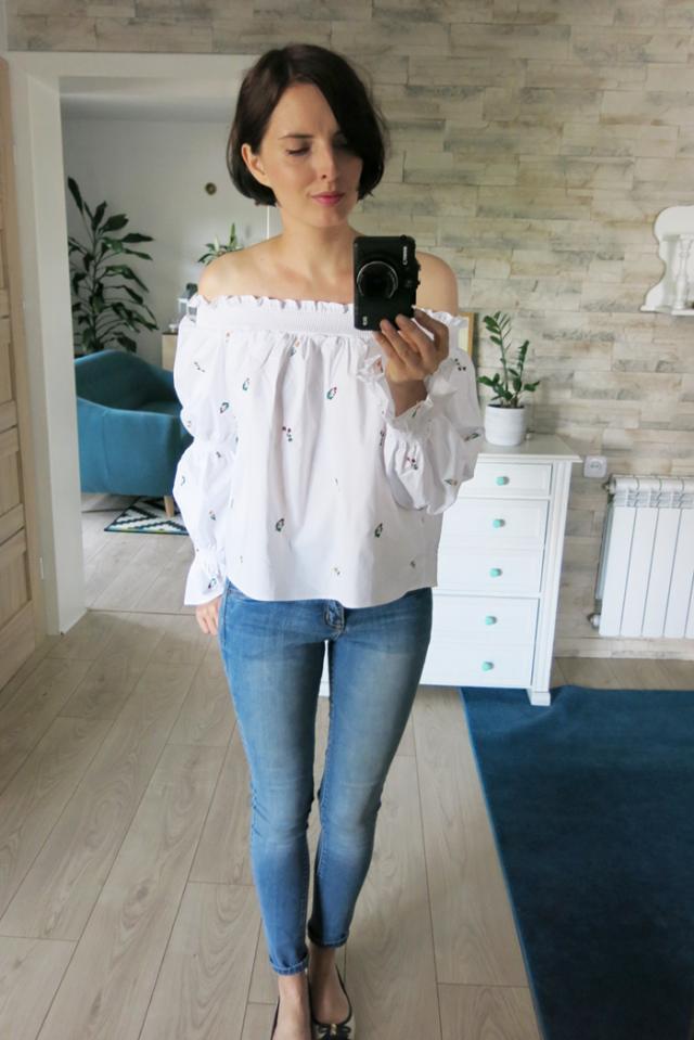 Beautiful Off shoulder #blouse #zaful