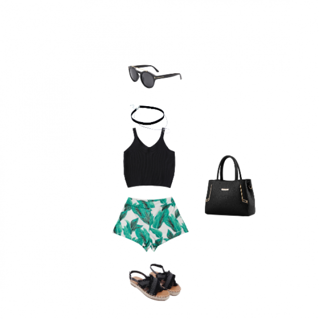 perfect outfit to throw on when you are spending the day outside -BV