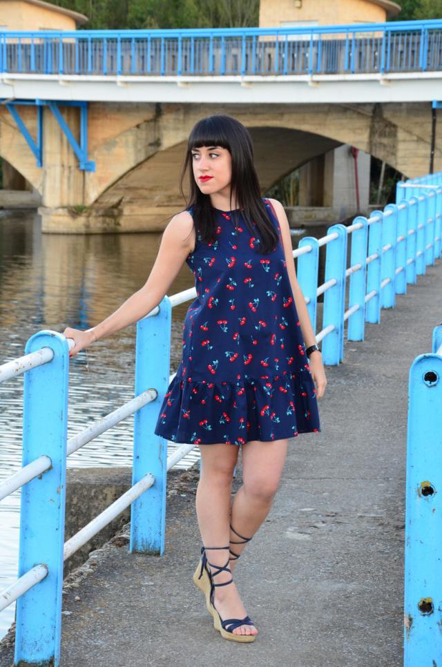 #ootd #look #outfit #dress #cherries #cherry #cerezas #sweet #preppy #pretty #girly #naif #lovely #loveselfie