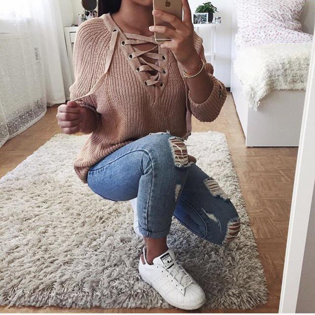 Beautiful sweater! do you like it? let me know in the comments!♥♥♥♥♥♥♥♥♥♥                              …