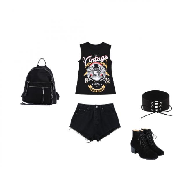 punk rock   #black
