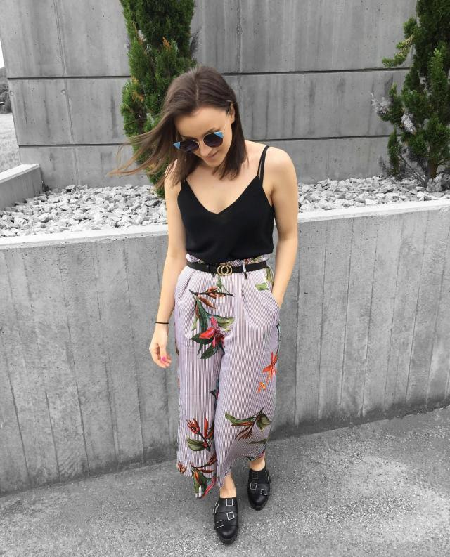 #floral #trousers #zaful #trends