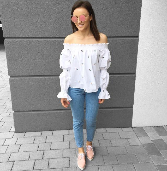 #zaful #trend #cateye #sunglasses #offshoulder #top