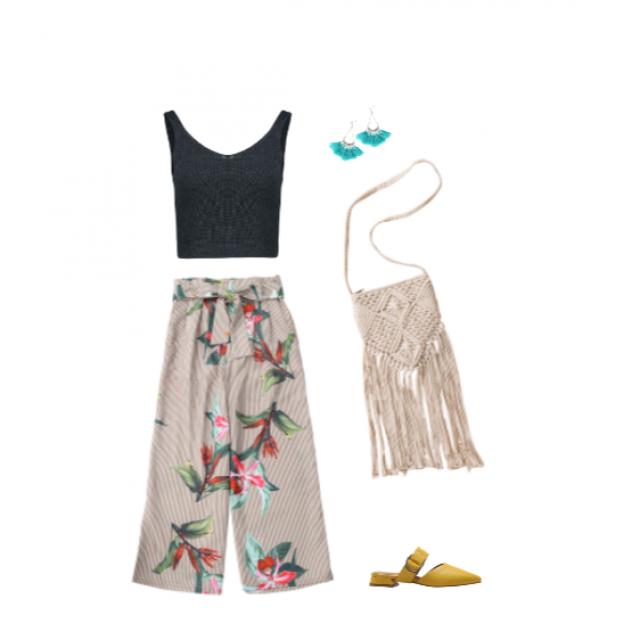 #summerchic #casual #tropicalprints