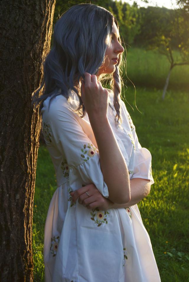lady-aria.blogspot.com #3anniv #dress