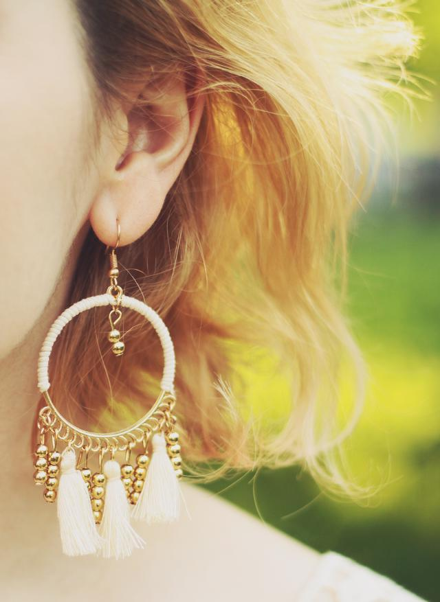 All about tassel this Summer. Got mine from Zaful :) #summer #tasselearrings