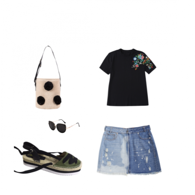"""I don\'t like summer\"" outfit"