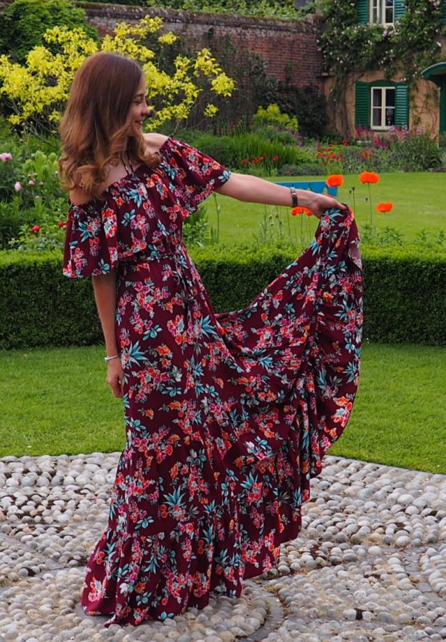 Gorgeous Zaful maxi dress, all the look on the blog www.travelera.es