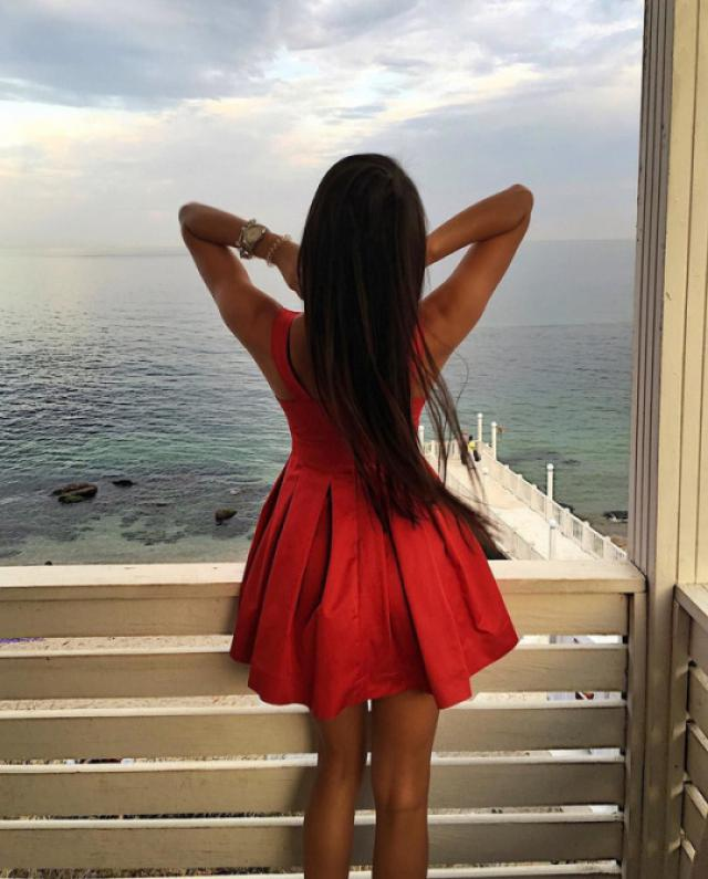 red dress is perfect for summer! #fashion #dress #ootd #outfit #style #trend #trendy