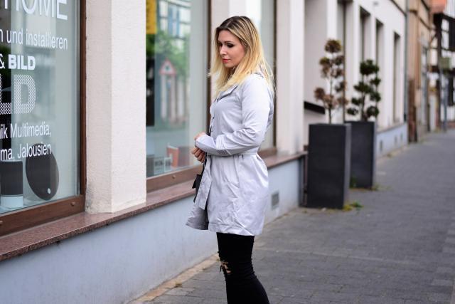 #coat #grey www.leilad.com