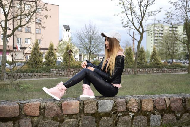 #polishgirl #springlook #black #style
