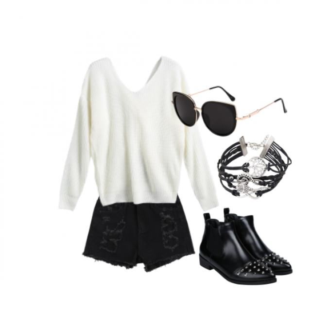 #black #comfort #shades #studs