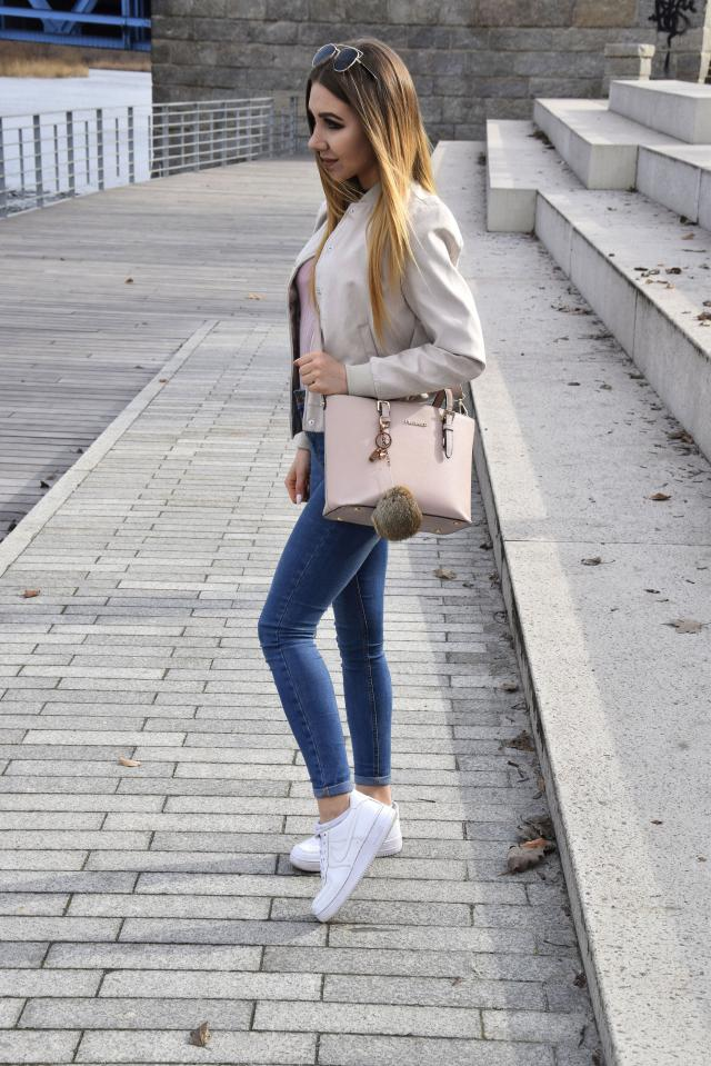 #springinthecity #polishblogger #lovedenim