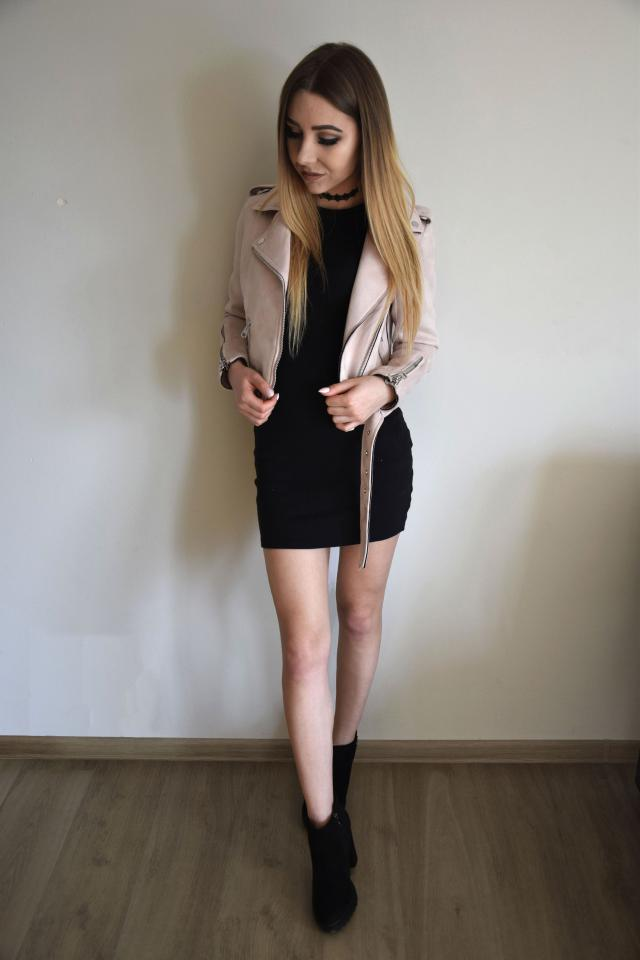 #polishgirl #black #pink #style