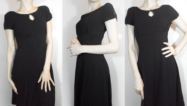 I`m so in love with this vintage little black dress