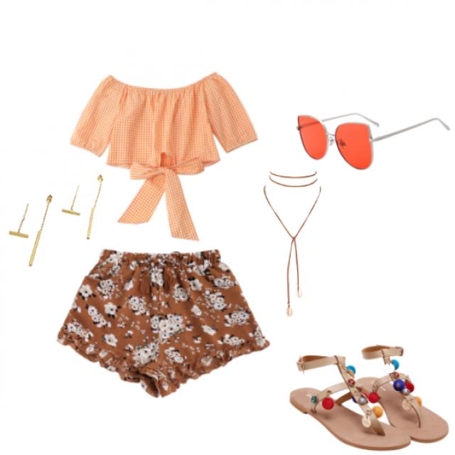 #summerlook #orange