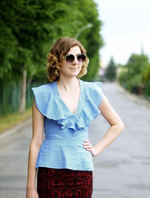 Amazing blouse http://newlifewithfashion.blogspot.com/2017/06/would-you-still-remember-me.html