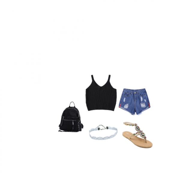 #AllSummer17 #That\'sWhatILike #LilHotty Little outfit that you can just throw on!