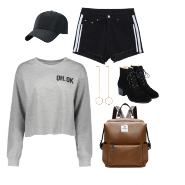 Sporty chic.