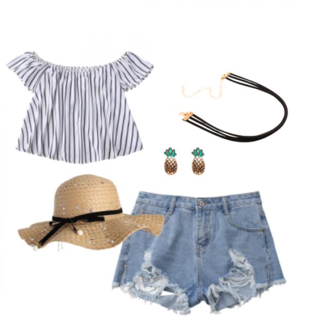 #summer #jeanshorts #sun