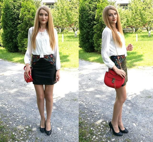 Embroidered skirt <3