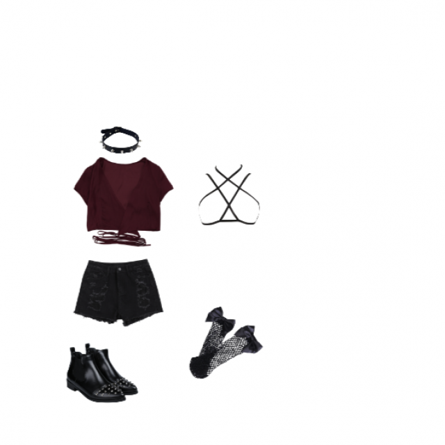 This outfit is a little edgy and I would love to wear this into the city one weekend! It\'s a little punk, a little
