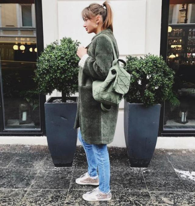 Love this outfit...simple and cozy #loveselfie #streetlook #coat #casual #outfit