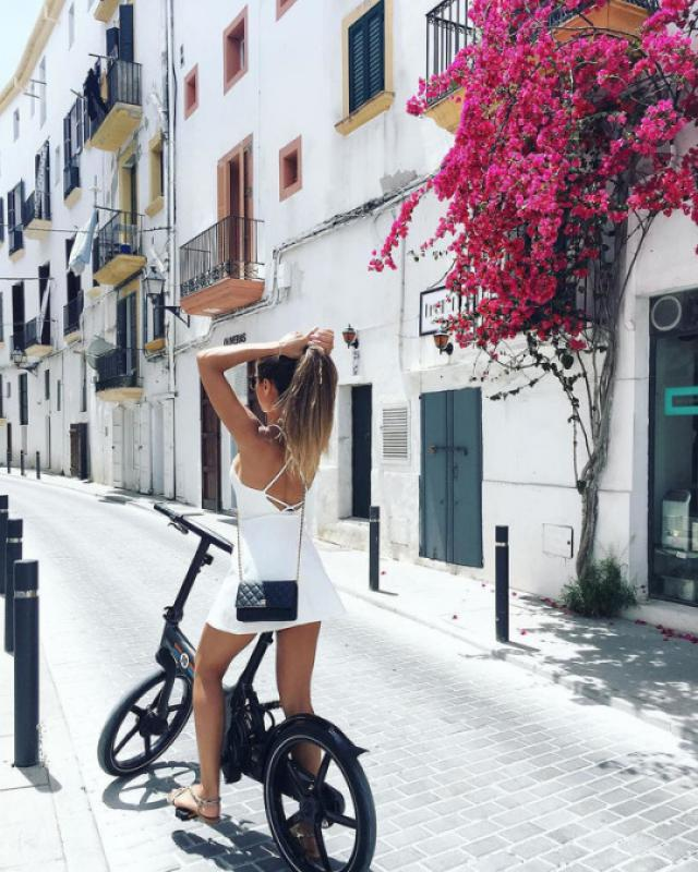 White summer dress #fashion #style #ootd #outfit
