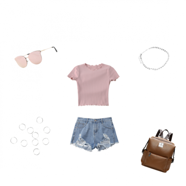 pretty in pink #summer #casual