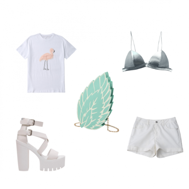 Summer look #outfit #white #summer