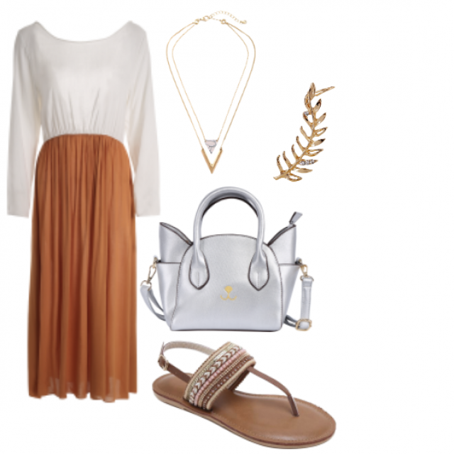 #Dress#sandals#Bag#Jewelry