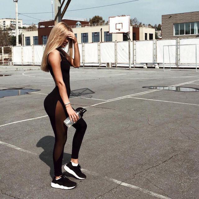 Perfect Gym Look #leggings #yoga #yogapants #gymlook