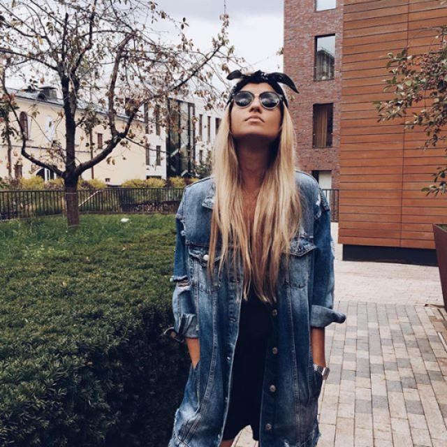 Beautiful denim jacket! do you like it? let me know in the comments!❤️❤️❤️❤️❤️❤️❤️❤️❤️                     …