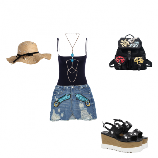 #summerlook #funoutfit