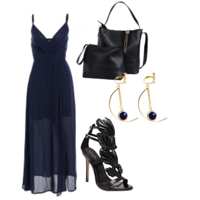 #sandals#bag#jewelry#dress