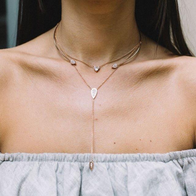 Necklace#street/outfits/women