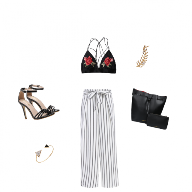 A sexy chic look for your summer night out!