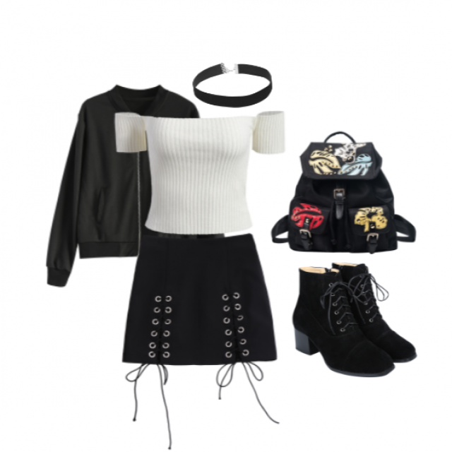 Casual Grunge #ootd #outfit #grunge