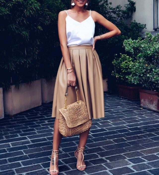 Everything has beauty, but not everyone sees it.      #skirt #dresstoexpress #gotolook #style