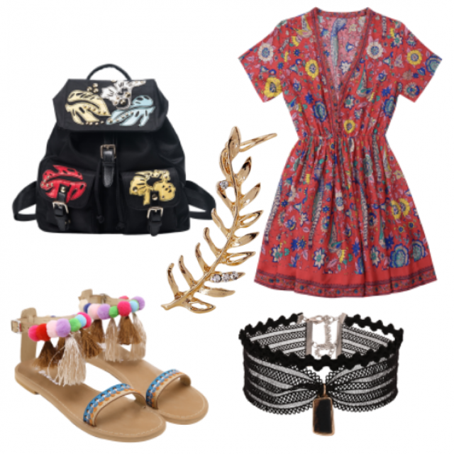 #sandals#dress#beg#jewelry