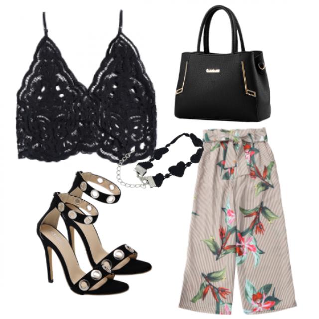 #top#sandals#bag#pants#jewelry