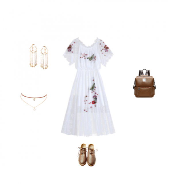 Girly Summery Outfit