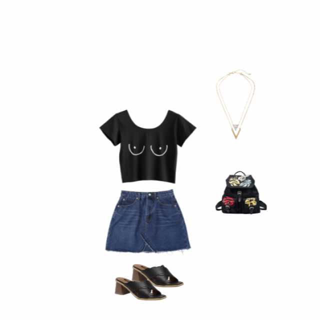 Casual Girly outfit