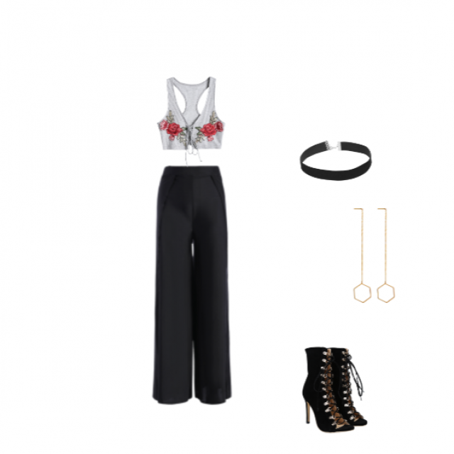 Evening date night or dinner outfit