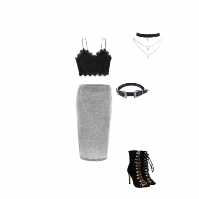 Edgy Night out outfit