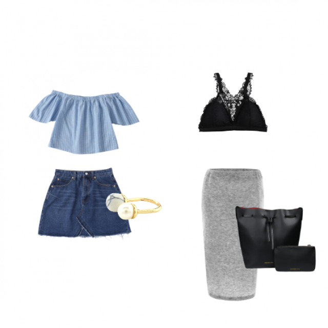 You can catch something else for this two outfits (shoes, accessories or jewelry), you\'re welcome :)
