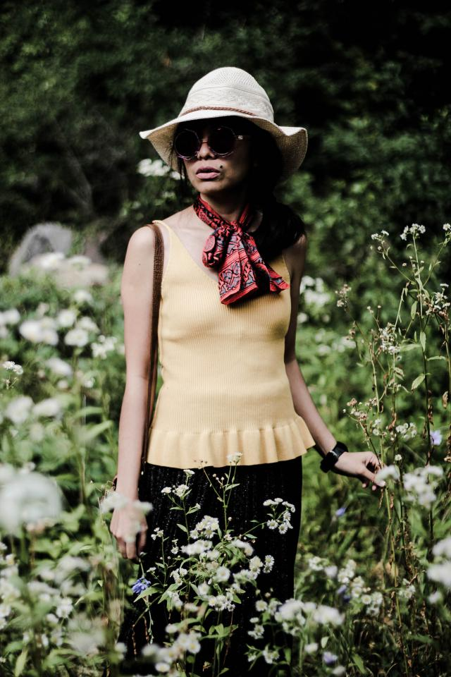 www.theshoenazi.com #4thofJuly #gotolook #shoeslover #ootd #summertrip #partydress #dressforidol #julyblue