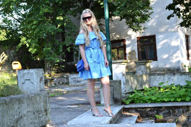 I like #blue dress .. #casul